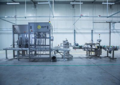 Unilogo Robotics - filling line - 1